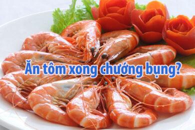 an tom bi chuong bung buon phien trong nguoi phai lam sao