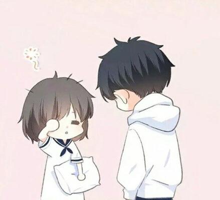 ảnh avatar đôi bạn học đáng yêu
