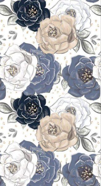 hinh nen oppo tranh hoa hong
