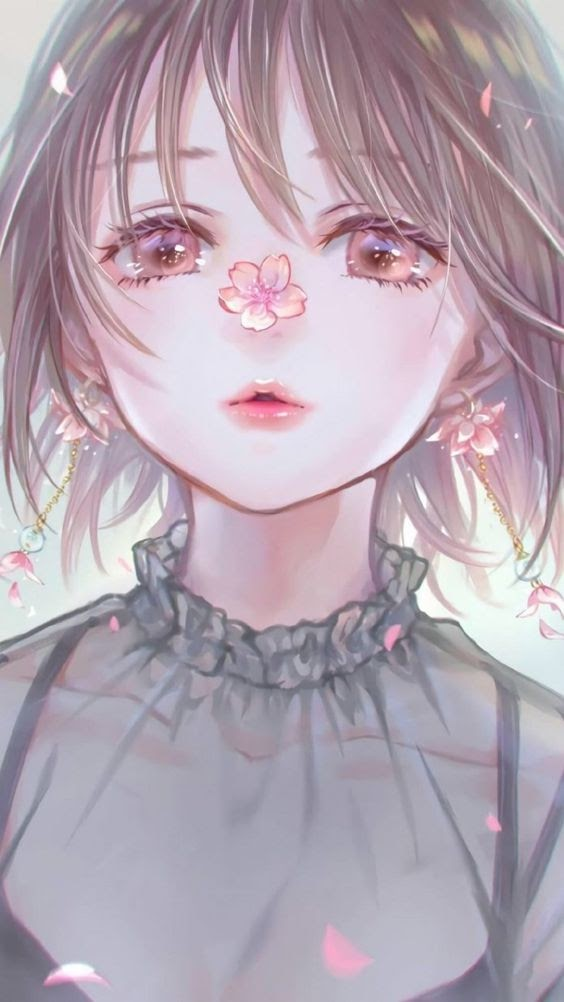 anh anime girl cute