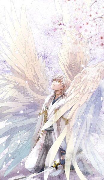 ảnh anime thiên thần nam