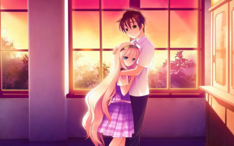 ảnh anime tình yêu kute