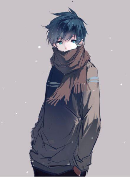hình ảnh anime nam buồn