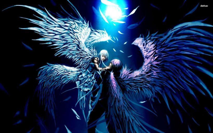 hình ảnh anime thiên thần và ác quỷ đẹp