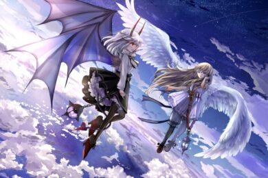 hình ảnh anime thiên thần và ác quỷ đẹp nhất