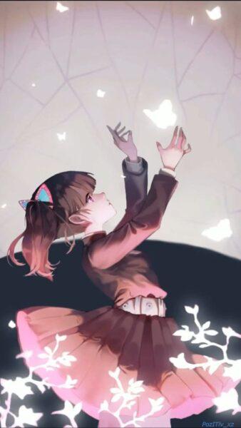 hình nền anime girl cho điện thoại