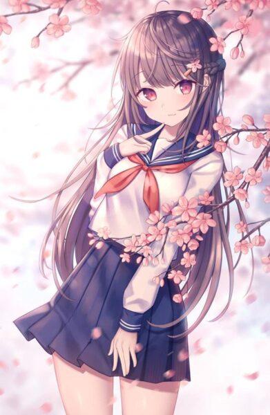 hình nền anime girl dễ thương