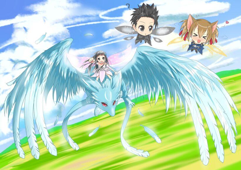 Hình nền máy tính Anime chibi 4k