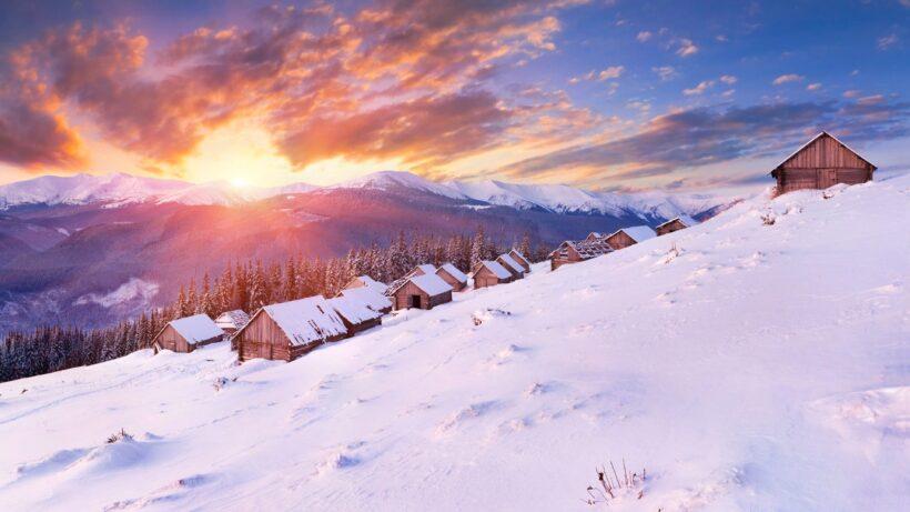 hình nền mùa đông 4K
