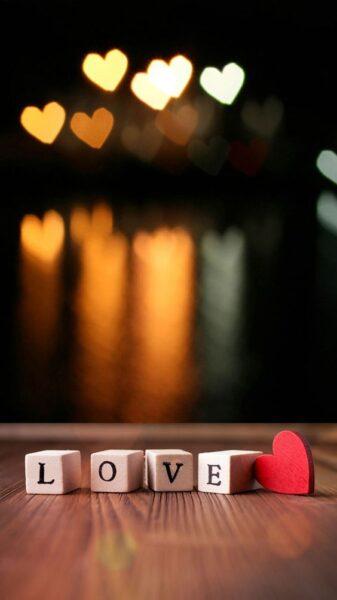 ảnh chữ love đẹp nhất làm hình nền điện thoại