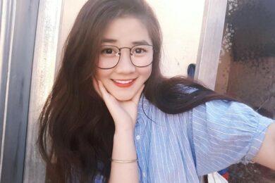 ảnh gái xinh 2k đeo kính