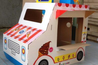 Cách làm đồ chơi bằng thùng giấy bìa carton