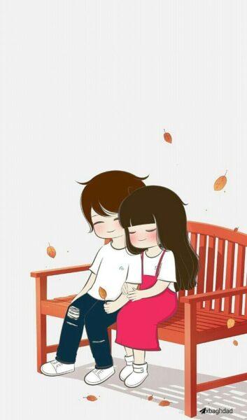 hình ảnh hoạt hình tình yêu cho ngày valentine