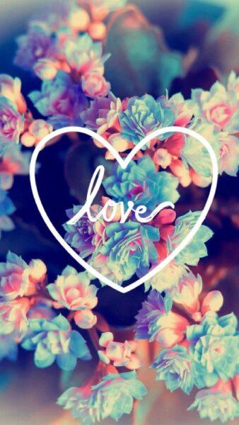 hình ảnh valentine với trái tim tình yêu tặng bạn gái