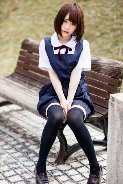 hình cô gái cute nhật bản