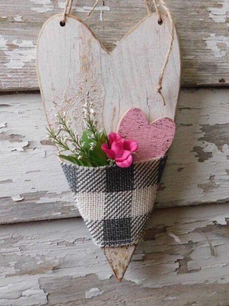 hình giỏ hoa xinh xắn lãng mạn trang trí ngày valentine