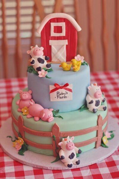 mẫu bánh sinh nhật cho bé siêu dễ thương