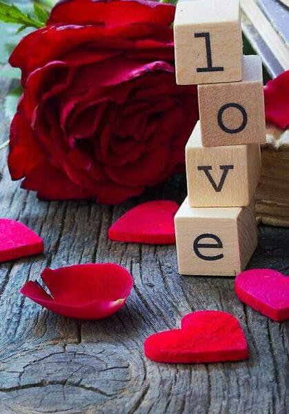 những kiểu chữ love đẹp lãng mạn