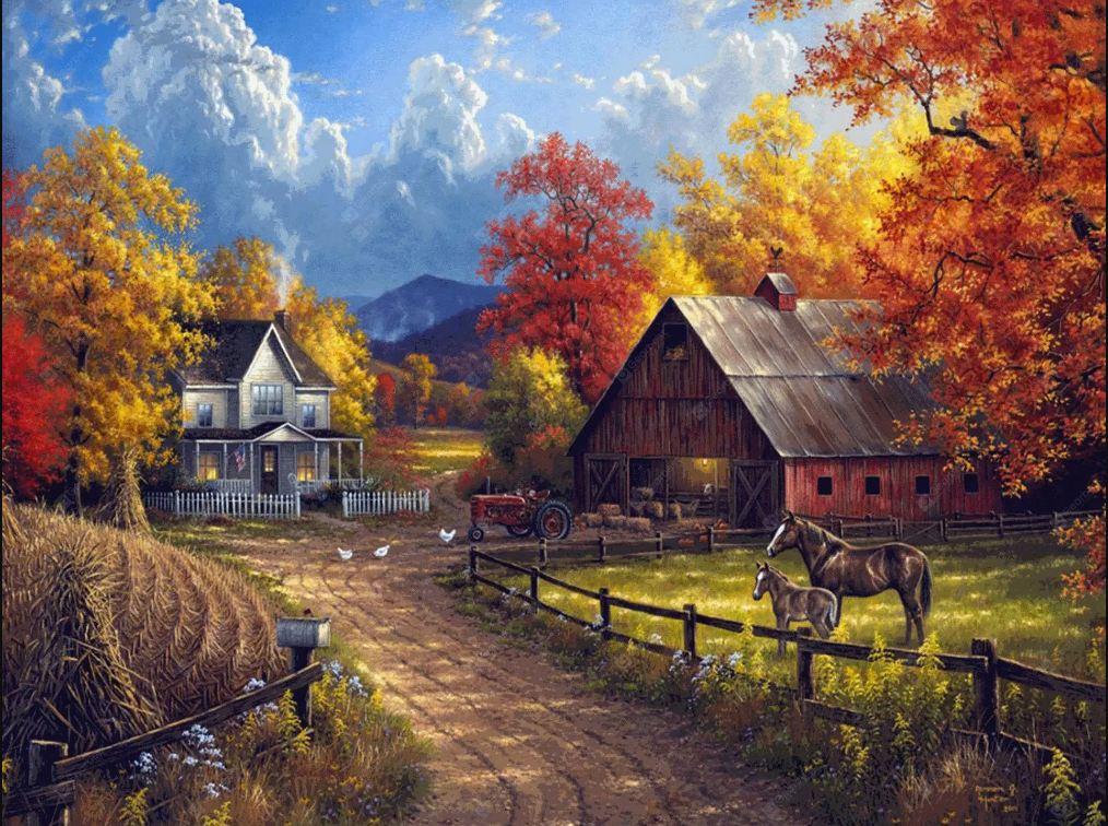 Tranh phong cảnh đẹp nhất