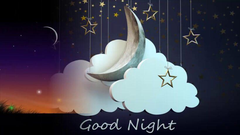 hình ảnh chúc buổi tối 3D good night