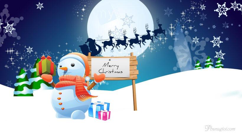 Hình ảnh Noel - Giáng Sinh ấm áp, an lành cute, dễ thương đẹp nhất