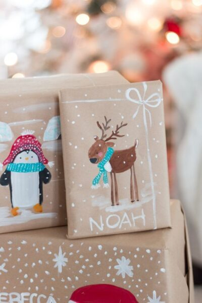 hình ảnh thiệp giáng sinh handmade đẹp nhất