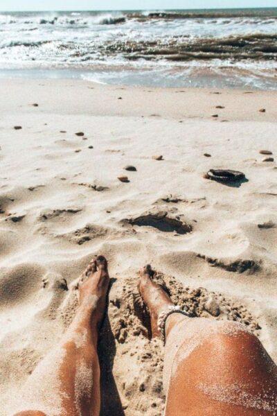hình ảnh thư giãn trên bãi biển