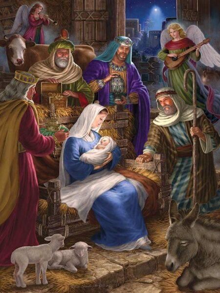 hình chúa Noel đẹp nhất
