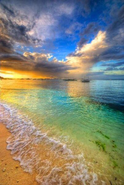 hình nền cảnh biển đẹp