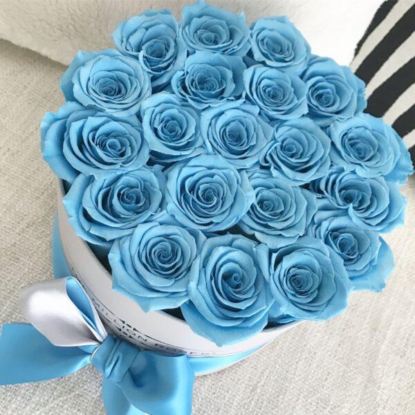 Ảnh bó hoa hồng xanh tặng bạn gái