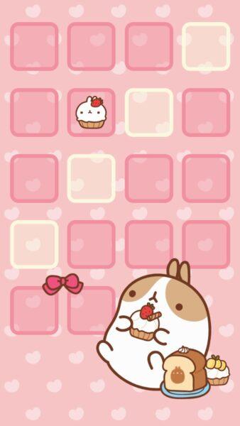 ảnh nền điện thoại màu hồng cute