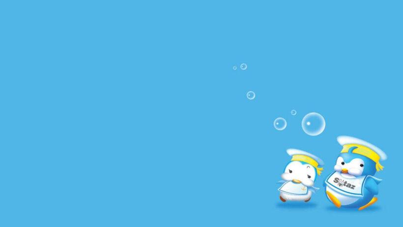 hình nền background xanh dương cute