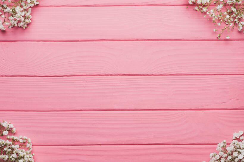 hình nền màu hồng đơn giản dễ thương