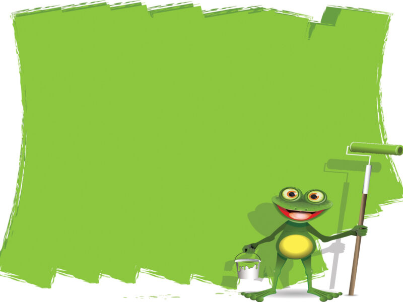 painter frog