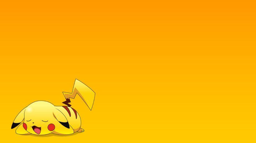 hình nền powerpoint về pikachu dễ thương
