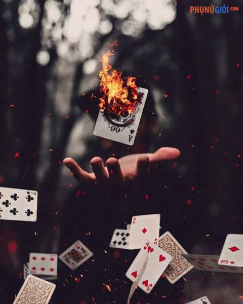 ảnh đại diện chất nhất cho nam về những lá bài