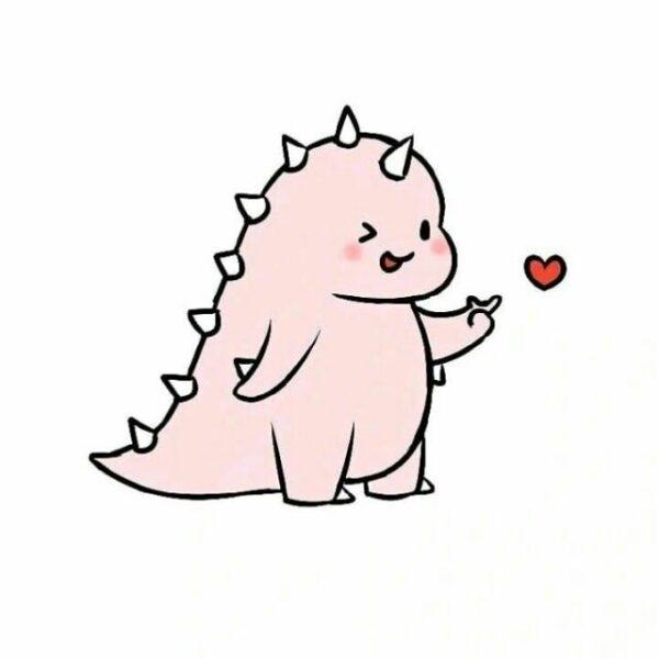ảnh đại diện con khủng long hoạt hình