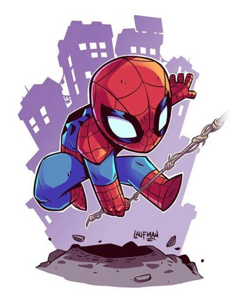 ảnh đại diện người nhện cho Facebook