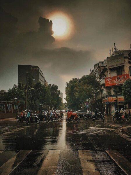 ảnh hà nội sau cơn mưa
