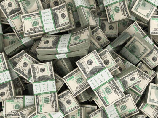 ảnh những cục tiền đô la