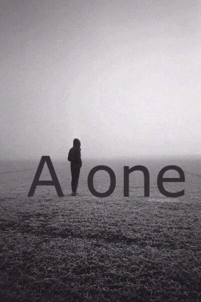 avatar đen trắng buồn một mình