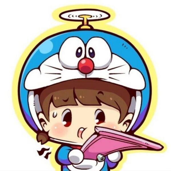 avatar doremon chibi