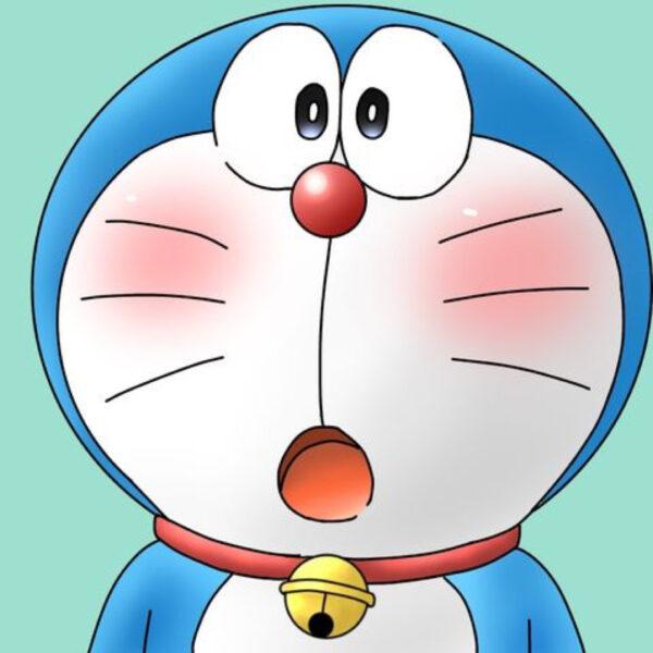 avatar doremon hốt hoảng
