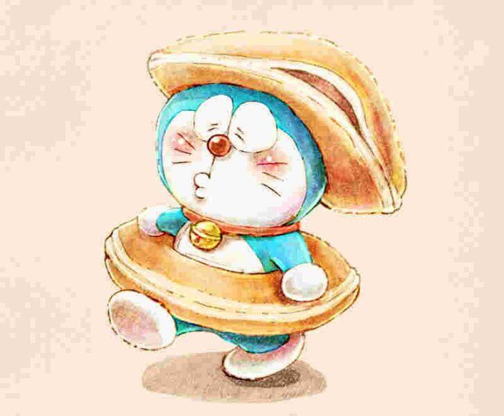 avatar doremon nghiện bánh rán