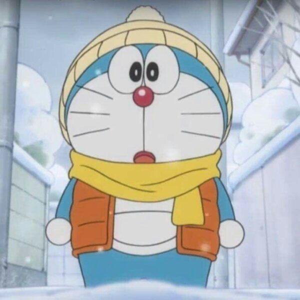 avatar doremon vào mùa đông băng giá