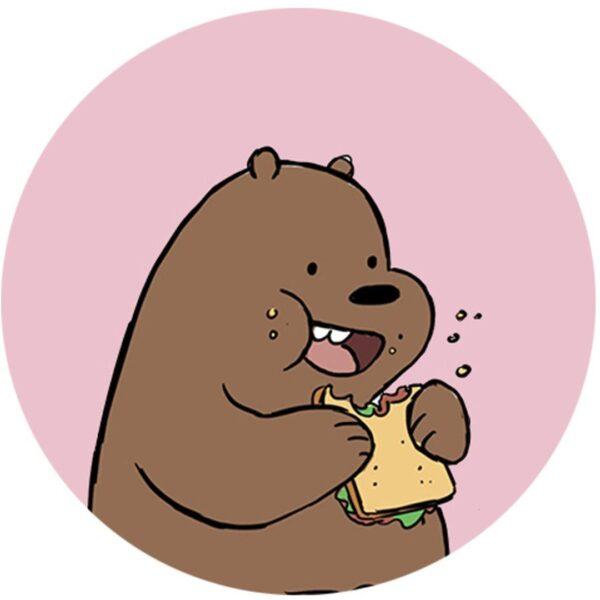 hình ảnh avatar con gấu trúc cute