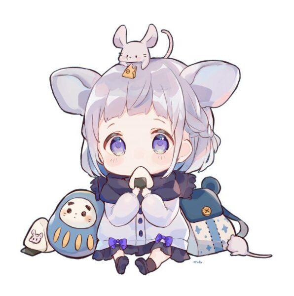hình ảnh avatar dễ thương, cute chibi