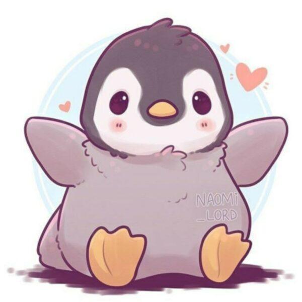 hình ảnh avatar dễ thương, cute chim cánh chụt