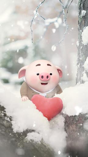 hình ảnh avatar dễ thương, cute về con lợn