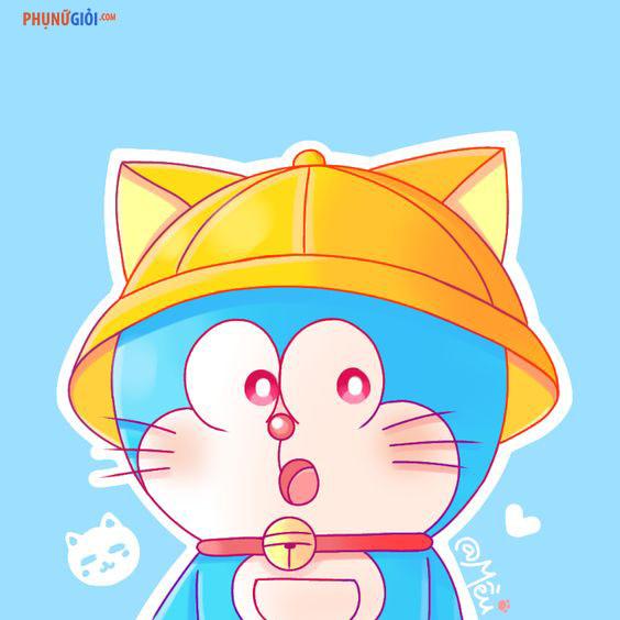 hình ảnh avatar doremon cute